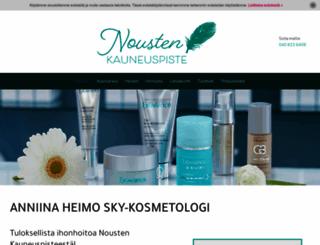 kauneushoitolanousiainen.fi screenshot