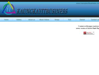 kaunglayitbusiness.com screenshot