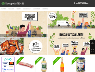 kauppahalli24.fi screenshot