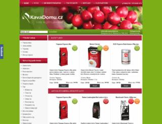 kavadomu.cz screenshot