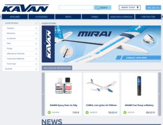 kavanrc.com screenshot