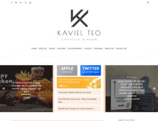 kavielteo.blogspot.sg screenshot
