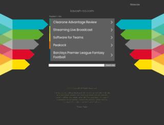 kavosh-co.com screenshot