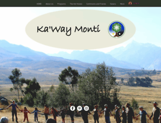 kawaymonti.org screenshot