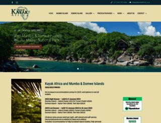 kayakafrica.net screenshot