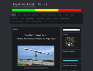 kayakfari.com screenshot