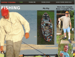 kayakfishing.stevepeasephoto.com screenshot
