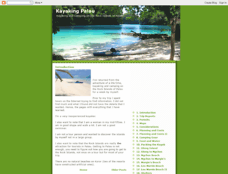 kayakingpalau.blogspot.com screenshot