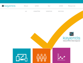 kayentis.fr screenshot