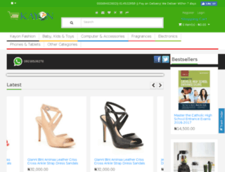 kayon.com.ng screenshot