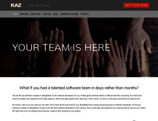 kaz.com.bd screenshot