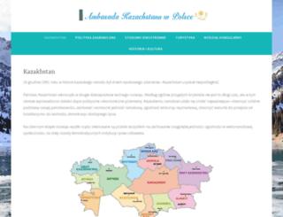 kazakhstan.pl screenshot