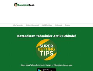 kazandiranadam.com screenshot