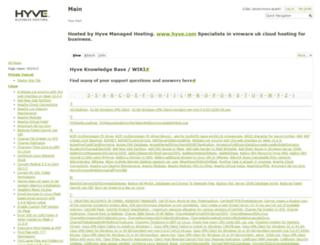 kb.hyve.com screenshot