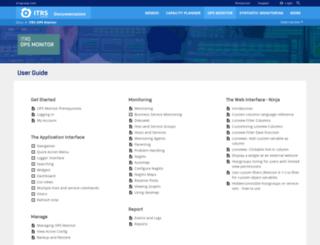 kb.op5.com screenshot