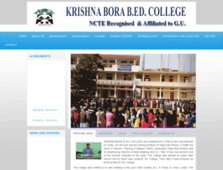 kbbedcollege.org screenshot
