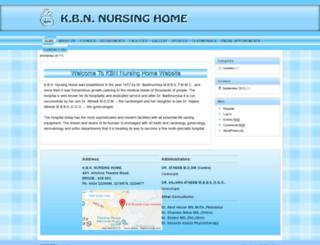 kbnnursinghome.com screenshot