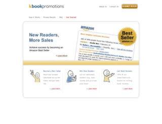 kbookpromotions.com screenshot