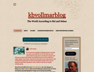 kbvollmarblog.wordpress.com screenshot