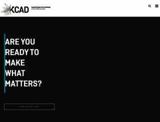 kcad.edu screenshot