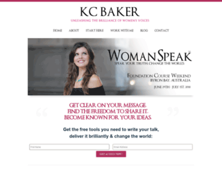 kcbaker.com screenshot