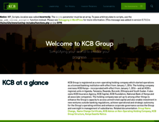 kcbgroup.com screenshot