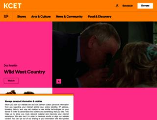 kcet.org screenshot