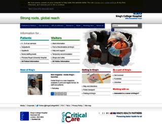 kch.nhs.uk screenshot