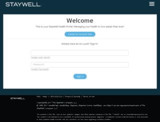 kchealthyincentives.staywell.com screenshot