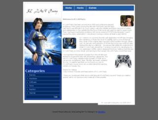 kclanparty.org screenshot