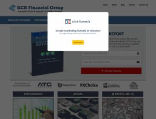 kcrfinancialgroup.com screenshot