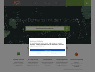 kcs-domains.de screenshot