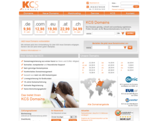 kcs-webhosting.de screenshot