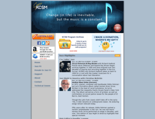 kcsm.org screenshot