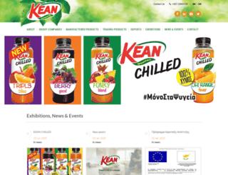 kean.com.cy screenshot