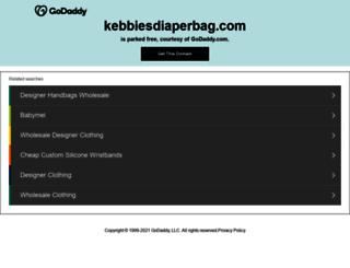 kebbiesdiaperbag.com screenshot