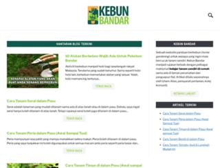kebunbandar.com screenshot