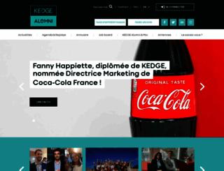 kedgebs-alumni.com screenshot