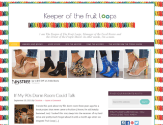 keeperofthefruitloops.com screenshot