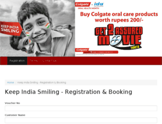 keepindiasmiling.bigcityexperience.com screenshot