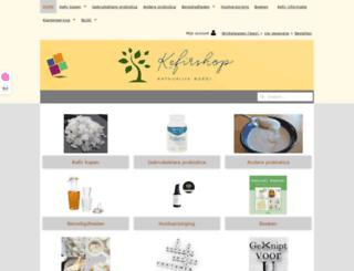 kefirshop.nl screenshot