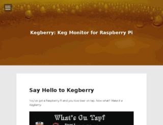 kegberry.kegbot.org screenshot