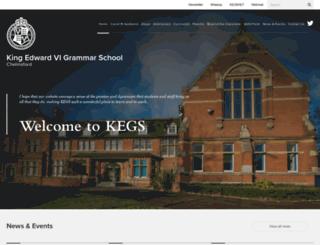 kegs.org.uk screenshot