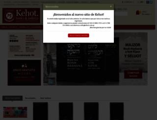 kehot.com.ar screenshot