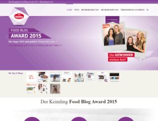 keimling-award.de screenshot