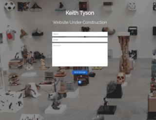 keithtyson.com screenshot