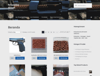 kelapadua-airsoft.com screenshot