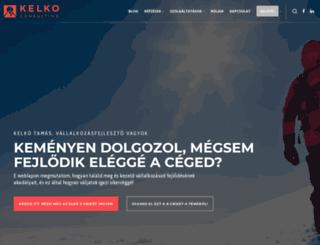 kelko.hu screenshot