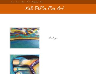 kellidepue.com screenshot