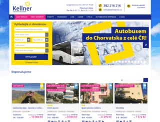 kellnerck.cz screenshot